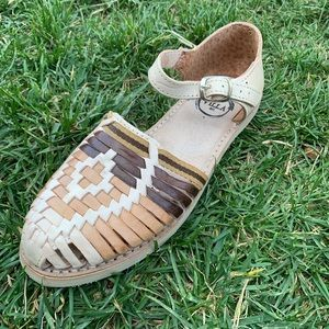 Women's Authentic Leather Mexican Sandals